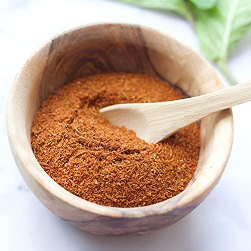 """Cajun Dust - Condimento cajún y condimento para barbacoa - """"Delicious Deep South Seasoning"""" - Paquete grande (225 g)"""