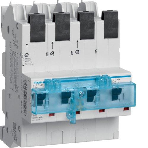 Hager HTS640C SLS-Schalter 3P+N Cs 40A f Sammelschiene