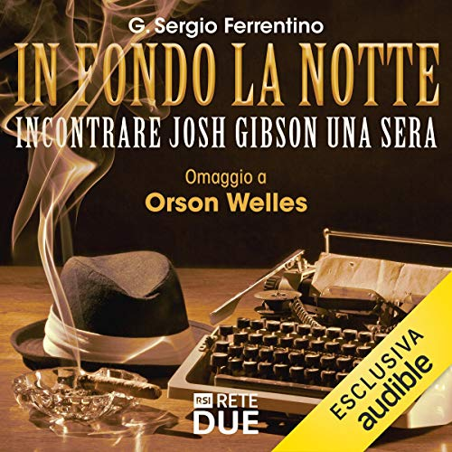 Incontrare Josh Gibson una sera audiobook cover art