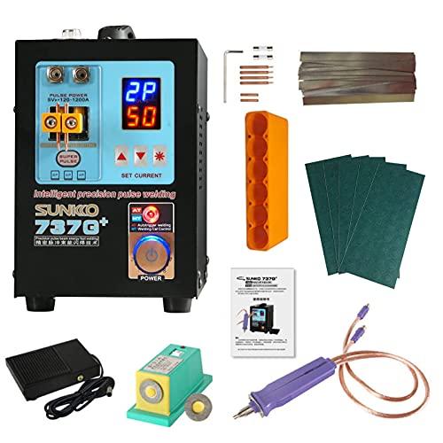 Equipo de soldadura a batería para,soldador por puntos con bolígrafo de soldadura móvil, máquina de soldadura de pulso de precisión inteligente controlada por inducción automática o por inducción