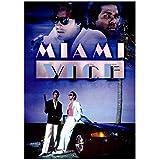 Miami Vice (1984) Póster de programa de televisión de acción/crimen clásico Impresión en lienzo Pintura Arte de la pared para la decoración del dormitorio de la sala de estar-50x70cm Sin marco