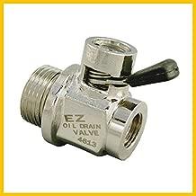 EZ (EZ-106) Silver 14mm-1.5 Thread Size Oil Drain Valve