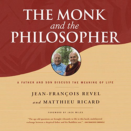The Monk and the Philosopher audiobook cover art