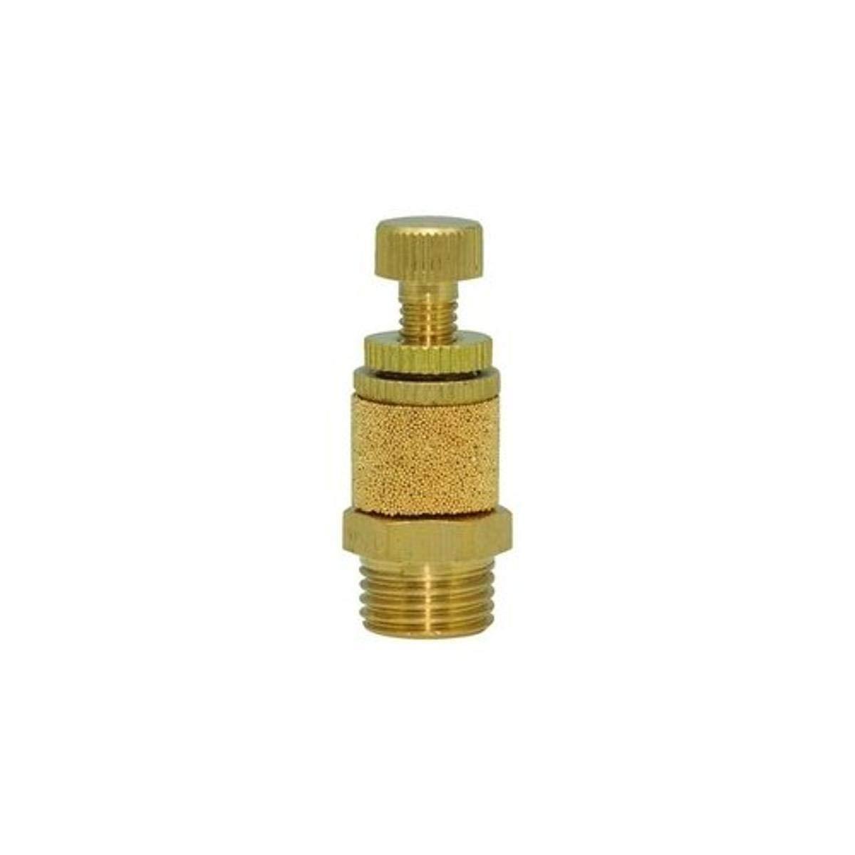 Spasm price Clippard SCM-Q Brass Speed Control Muffler Knurled NPT Kn 4