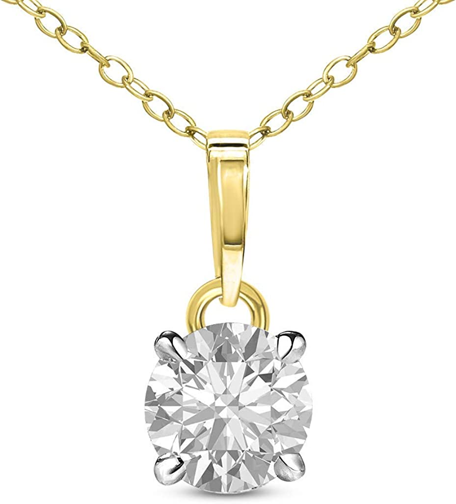 Natural Diamond Pendant Popular products High material 1 20 3 Carat Neckla to 4