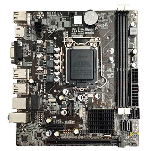 Busirsiz B75 LGA1155 Escritorio Placa Base del Ordenador con SATA 2.0 USB 3.0 2 DIMMs DDR3 16G Placa Madre for PC Accesorios duraderas for Intel