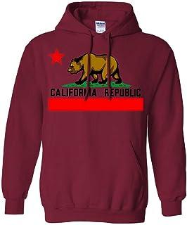Dolphin Shirt Co California Republic Silver Youth Sweatshirt Hoodie
