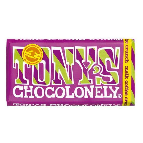 Tony's Chocolonely Vollmilchschokolade 32% Coffee Crunch mit knusprigen Kaffeebohnen