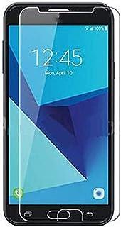 SOMEFUN 2pcs Clear Tempered Glass Crystal Screen Protector film for Samsung Galaxy J7 2017 SM-J727 J727R4 J727V J727P SM-J...