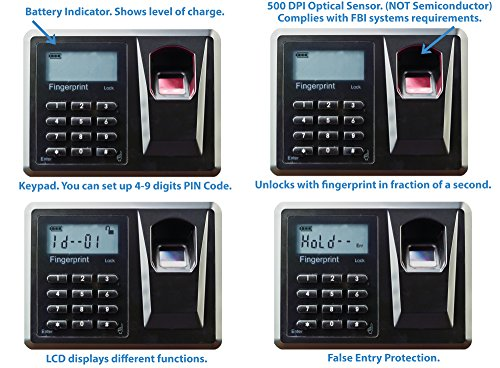3. Viking Security Safe VS-52BLX Biometric Fingerprint Hidden Wall Safe