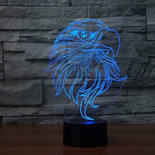 Kreative Adler Tischlampe Farbe Ersatz Tischlampe Lampe Neuheit Nachtlicht Lampe