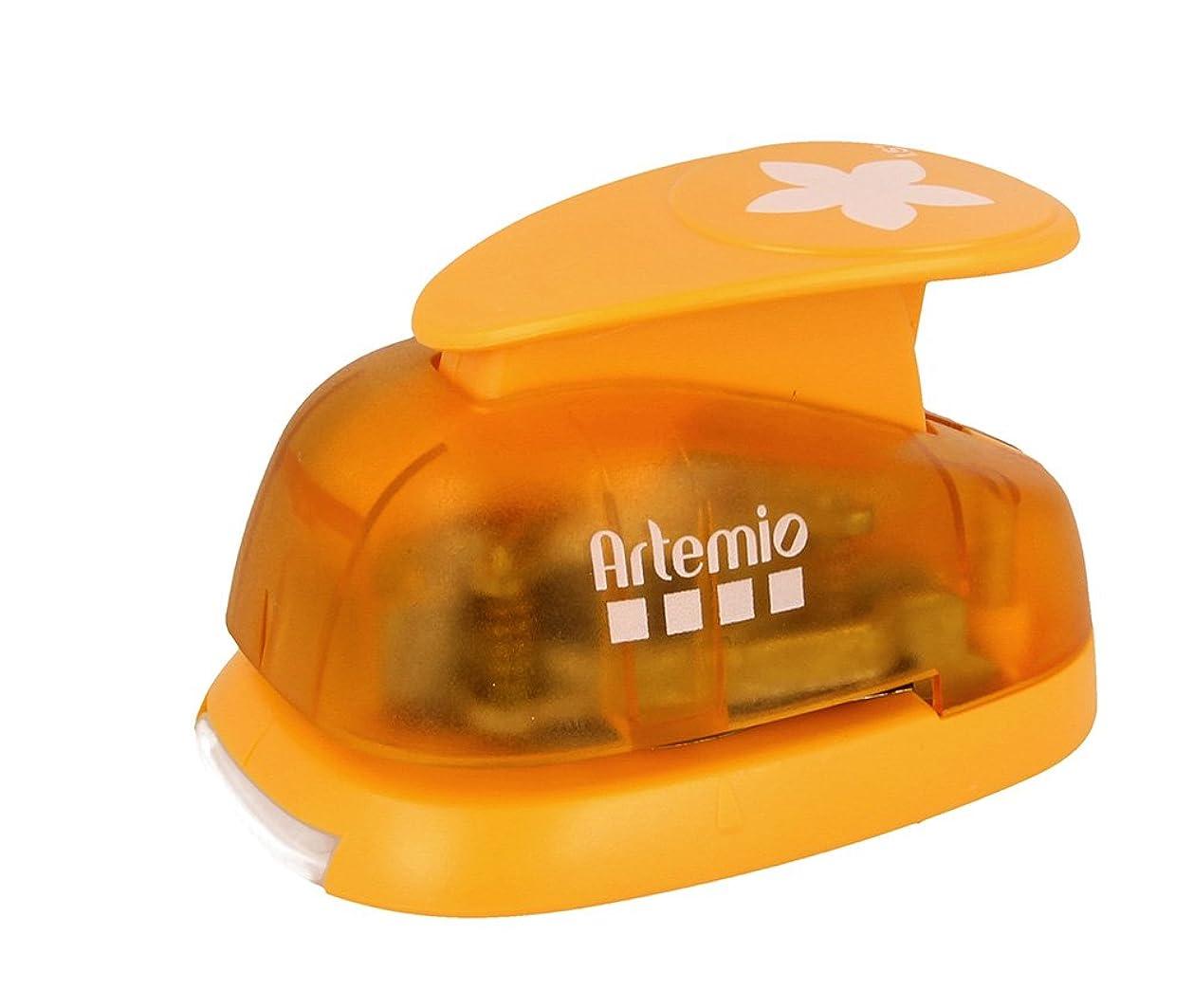 Artemio 3.5 cm Petals Lever Punch, Orange lzkqs6295