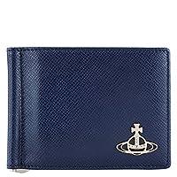 [ヴィヴィアンウエストウッド]Vivienne Westwood 二つ折り財布 51100004 40531 メンズ K401 BLUE [並行輸入品]