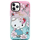MC Fashion iPhone 11 Pro Hülle, Cute Cartoon Hello Kitty Transparent Hülle, Full Body Slim Fit Protective Soft TPU Hülle für Apple iPhone 11 Pro 5.8 Zoll 2019