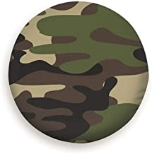 X-Large Camouflage Military Abstract Camo Universal Spare Wheel Tire Cover Fit for Truck Camper Van,Jeep,Trailer, Rv, SUV Trailer Accessories (14,15,16,17 Inch)