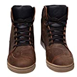 Best Motorcycle Boots - RXL Motorcycle Shoes Leather Waterproof Motorbike Boots Mens Review