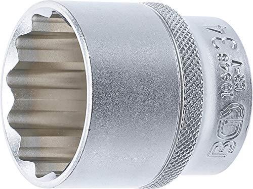 BGS–Bussola a 12punte, 1/2pollici, 34mm, 1pezzo, 10648