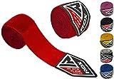 RDX Fasce Boxe Bende per Mani Elastico Polsi Pugilato Bendaggi 4,5 Metri MMA Guanti Interi...
