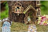 1000 piezas-Jardín de hadas con bolas de observación de ciervos y setas en una maceta de madera DIY educativos para niños Regalo de descompresión para adultos Juegos creativos Juguetes 10