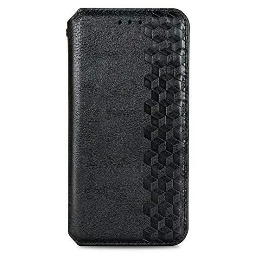 JIAFEI Hülle für Xiaomi Poco X3 PRO / X3 NFC, PU Leder Flip Brieftasche Hülle Handyhülle, mit Kartenfach Stand & Magnet Funktion Handy Schutzhülle, Schwarz