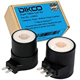 DIKOO 279834 Dryer Gas Valve Ignition Solenoid Coil Kit Compatible with Whirlpool, Maytag Dryers Replaces 12001349, AP3094251, PS334310