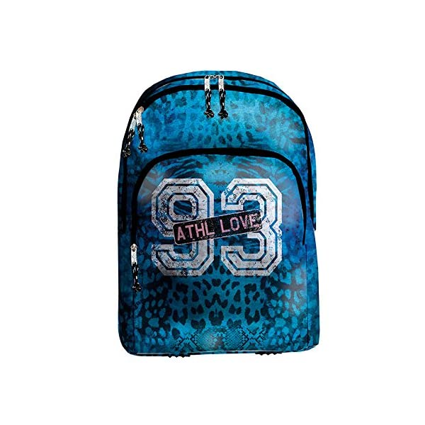 51cgjMFIPuL. SS600  - Busquets Mochila Escolar Doble BECOOL Athletic by