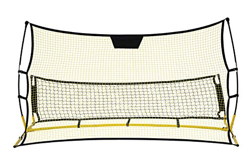 Inertia Sports Soccer Rebounder Training Net - Improve Soccer Ball Handle and Footwork (Double Sided)