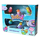 Digibirds 6pcs Electronic Music Sing Solo or Choir Interactive No Batteries