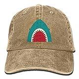 Shark Big Mouth Creative Gorras de bisbol Sombreros ajustables de mezclilla
