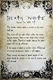 GB Eye Ltd, Death Note, Rules, Maxi Poster