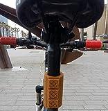 2 Manguitos decorativos en goma flexible para tubos, Panots, baldosa, flor de Barcelona, Cataluña