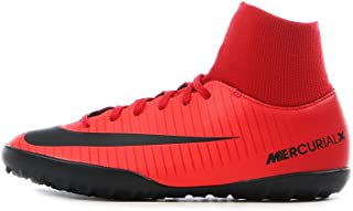 JR MercurialX Victory 6 DF TF Mens Soccer-Shoes 903604-616_1Y - University RED/Black-Bright Crimson