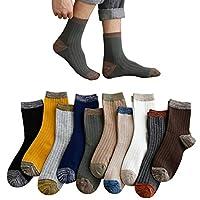 靴下 ソックス メンズ 10足 綿 カジュアル メンズ デザイン ビジネスソックス セット 通勤 24-28cm