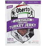 Oberto Natural Style Teriyaki Turkey Beef Jerky, 3.25 Ounce -- 8 per case.