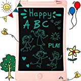 LCD Doodle Board Drawing Tablet 8.5 Inch, Erasable Reusable Writing Pad, is a Sketch Pad for Kids, Toddler Toys, Age 2 3 4 5 6 7 8 Year Old Girls & Boys - Educational and Learning Toys Best Gifts