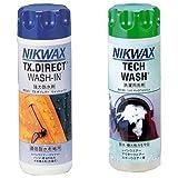 【おすすめセット】 NIKWAX TX.ダイレクトWASH-IN 【撥水剤】 1個 + NIKWAX LOFTテックウォッシュ 【洗剤】 1個