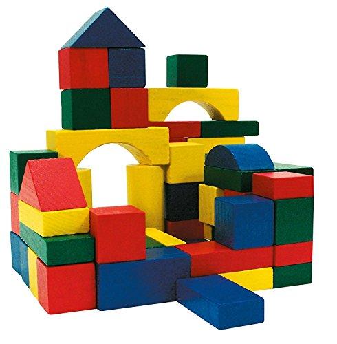 Invero - Bloques de Madera para niños de 100 Piezas, diseño de...