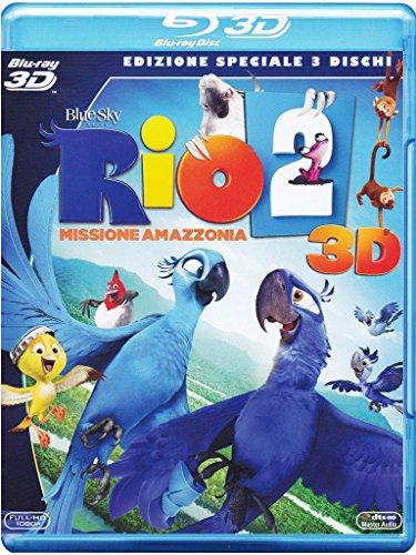 Rio 2 - Missione Amazzonia(2D+3D+DVD) [3D Blu-ray] [IT Import]