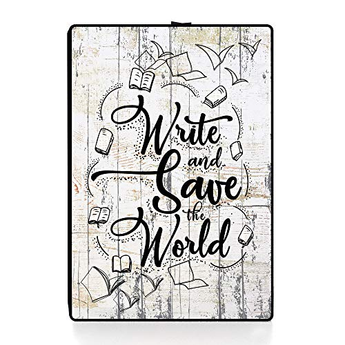 Writer Gifts | Unique Lighting Art Plaque Gifts for Writers | Meaningful Writer Gifts for Men and Women | Ideal Gifts for Authors | Gifts for Aspiring Writers | Themed Writers Decor (Variation 1)