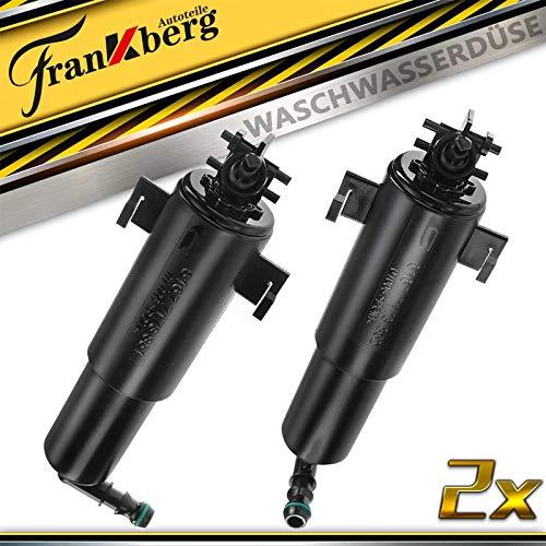 2x Scheinwerferreinigung Waschwasserdüse Links Rechts für X5 E70 2007-2013 61677173851