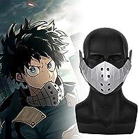 绿谷出久 みどりや いずく でく マスク PVC 小道具 Midoriya Izuku Mask Prop 僕のヒーローアカデミア My Hero Academia 仮装用 コスプレ マスク Cosplay Mask 学園際 文化際 (Adjustable)