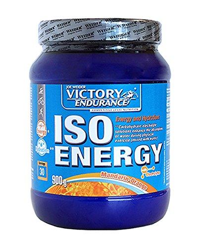 Victory Endurance Iso Energy Narnja Mandarina 900g. Rápida energía e hidratación.Con extra de Sales minerales y enriquecido con Vitamina C
