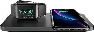 【2020年最新版】Seneo ワイヤレス充電器 2in1 Apple Watch対応 ワイヤレス チャージャー iPhone 11 / 11 Pro / 11 Pro Max/SE(第2世代) / XS/XS Max/XR/X / 8 / 8...