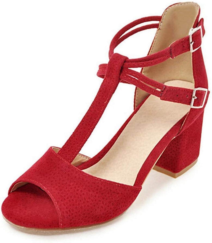Ladies Party shoes Sandal High Heel Finger Open Toe T-Straps Women's Summer Sandals shoes