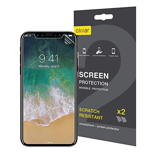 Olixar Protector de Pantalla iPhone XS Película Protectora