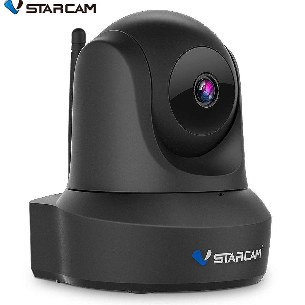 人里離れたプラススタイルVStarcam 防犯カメラ wifi 監視カメラ 高画質 200万画素 1080P フルHD WiFi 無線 ネットワークカメラ(IPカメラ)ベビーモニター ワイヤレス無線屋内カメラ 録画 ペット確認用 ベビー/老人介護用 高解像度 WIFI対応 遠隔操作 動体検知 警報通知 双方向音声 暗視機能 録画可能 日本語APP 日本語説明書 技適認証済み Vstarcam C29S ブラック