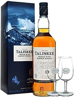 Talisker 10 Jahre Single Malt Whisky 0,7 Liter  2 Classic Malt Gläser