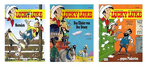 Lucky Luke * Band Nr. 85, 86 und 88 * Im Set 3 Ausgaben * Hefte