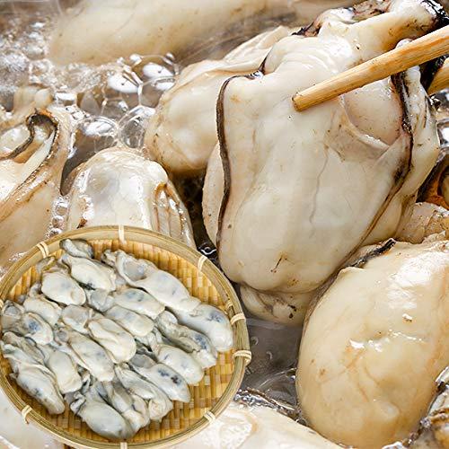 牡蠣 冷凍 むき身 カキ 安心・安全ニッスイの広島県産牡蠣 2Lサイズ 1kg(解凍後850g) 広島産 冷凍かき 1キロ かき [日本水産]