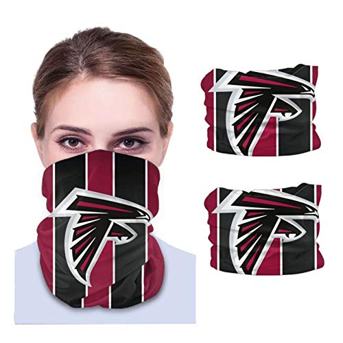 A-tlanta F-alcons Unisex Sun-Proof Face Bandanas,Face Cover,Scarf,Variety face Towel,Microfiber Neck Warmer,Variety Head Scarf,Lightweight,Breathable Outdoors,Running,Cycling 2 PCS